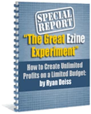 Pay for Great Ezine Experiment PLR