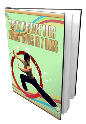 Pay for How to Vastly Increase Your Energy Levels in 7 Days PLR