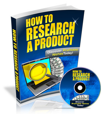 Pay for How to Research a Product - Video Series PLR