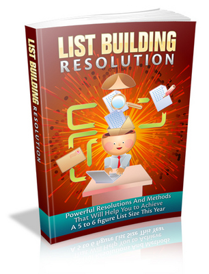 Pay for List Building Resolution - Viral eBook