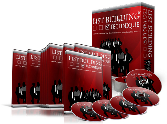 Pay for List Building Technique - Video Series