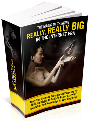 Pay for Magic of Thinking Really, Really Big in the Internet Era