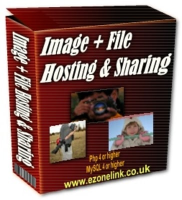 Pay for Image + File Hosting & Sharing PLR