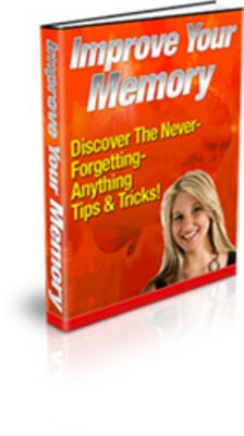 Pay for Improve Your Memory (PLR)