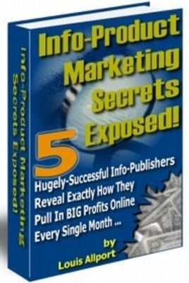 Pay for Info-Product Marketing Secrets PLR