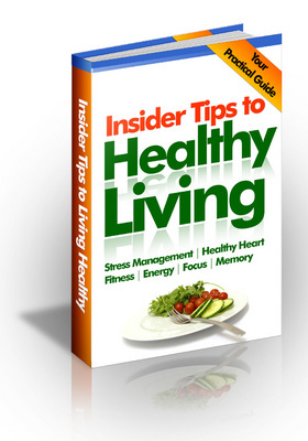 Pay for Insider Tips to Healthy Living PLR