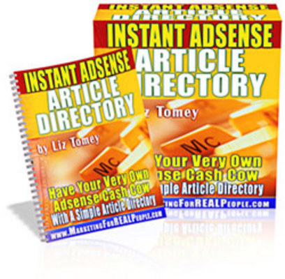 Pay for Instant AdSense Article Directory PLR