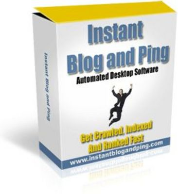 Pay for Instant Blog & Ping (PLR)