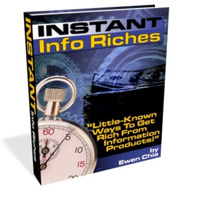 Pay for Instant Info Riches PLR