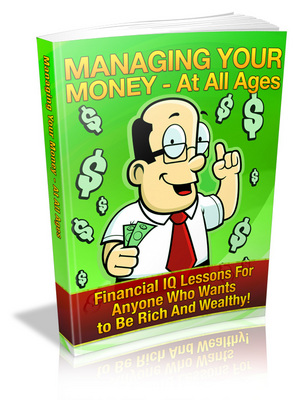 Pay for Managing Your Money at All Ages - Viral eBook PLR