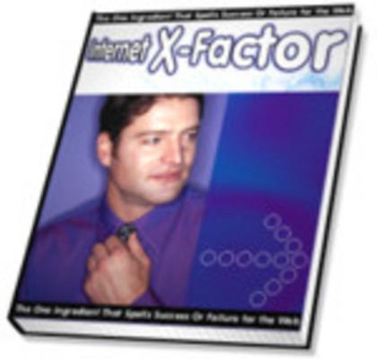 Pay for Internet  X-Factor PLR