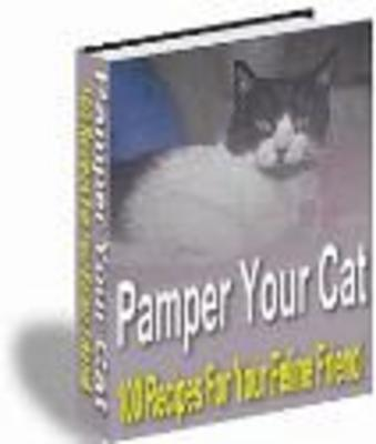 Pay for Pamper Your Cat (PLR)