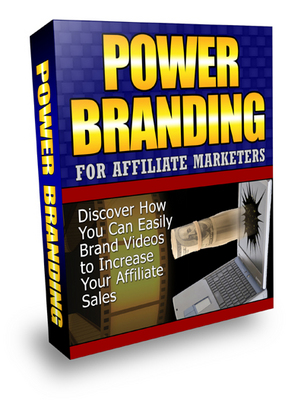 Pay for Power Branding for Affiliate Marketers - Video Series (PLR)