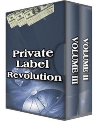 Pay for Private Label Revolution (PLR)