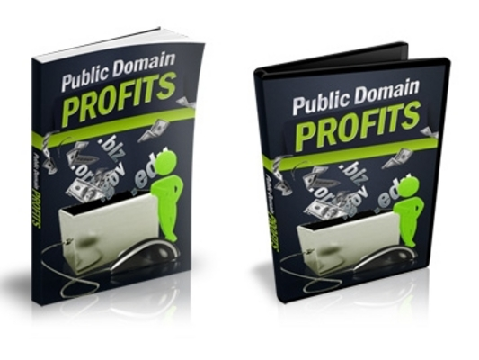 Pay for Public Domain Profits - eBook and Videos
