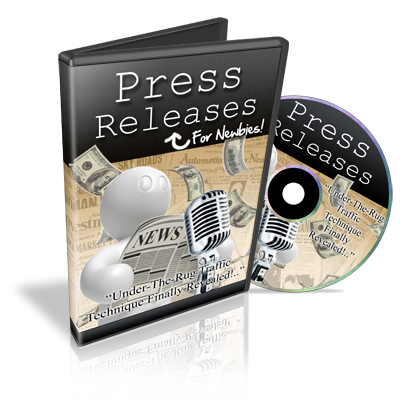 Pay for Press Releases for Newbies - Video Series plr