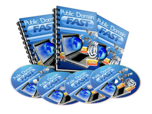 Pay for Public Domain Fast - eBook and Videos