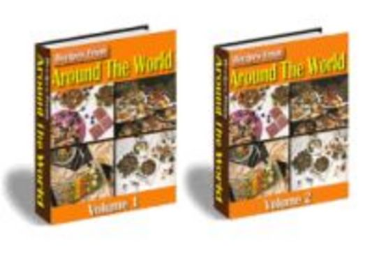 Pay for Recipes from Around the World (PLR)
