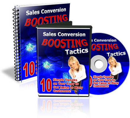 Pay for Sales Conversion Boosting Tactics - Audio and Video
