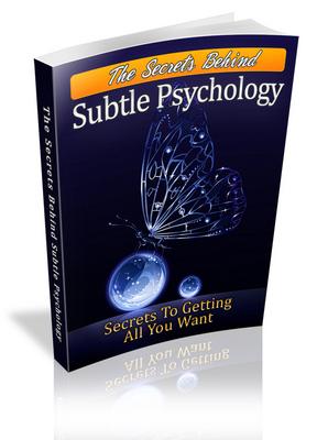 Pay for Secrets Behind Subtle Psychology - Viral eBook plr