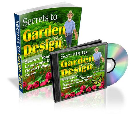 Pay for Secrets to Garden Design - eBook and Audio plr