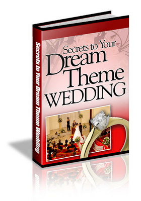 Pay for Secrets to Your Dream Theme Wedding plr