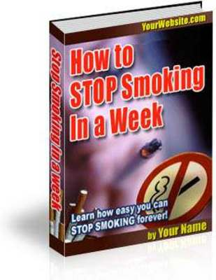 Pay for Stop Smoking in a Week (PLR)