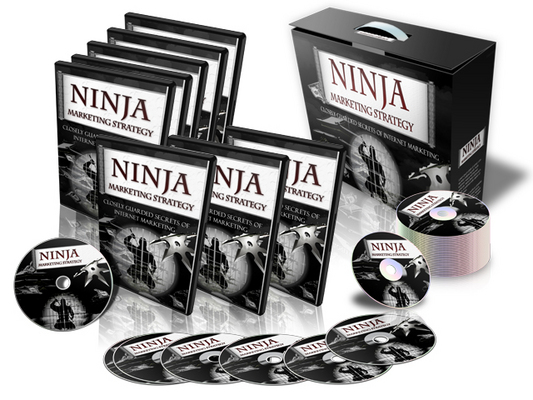 Pay for Ninja Marketing Strategy - eBook and Videos