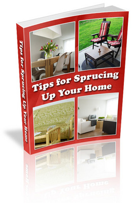 Pay for Tips for Sprucing Up Your Home plr