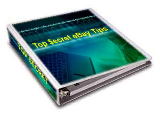Pay for Top Secret eBay Tips (PLR)