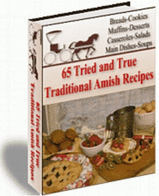 Pay for Traditional Amish Recipes plr