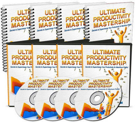 Pay for Ultimate Productivity Mastership - Audio and Video Series
