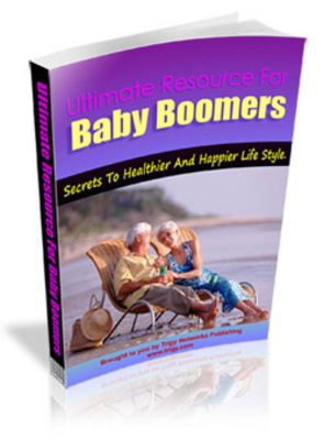 Pay for Ultimate Resources for Baby Boomers plr