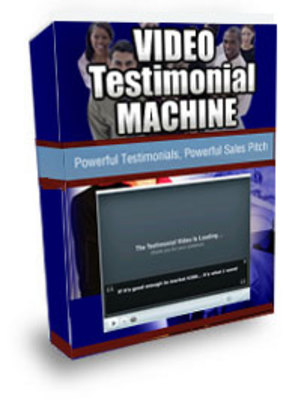 Pay for Video Testimonial Machine (PLR)