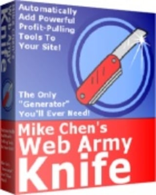 Pay for Web Army Knife