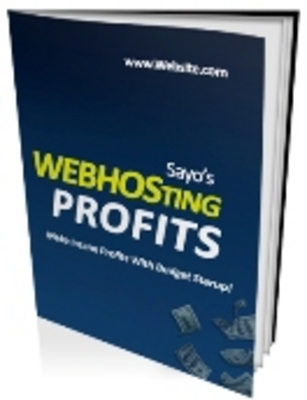 Pay for Web Hosting Profits (PLR)