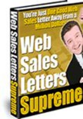 Pay for Web Sales Letters Supreme