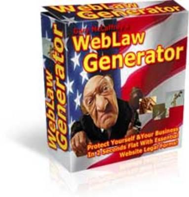 Pay for Weblaw Generator