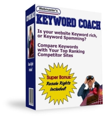 Pay for Webmasters Keyword Coach