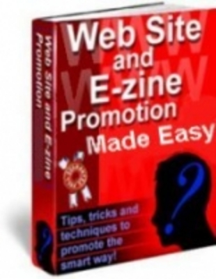 Pay for Website and Ezine Promotion