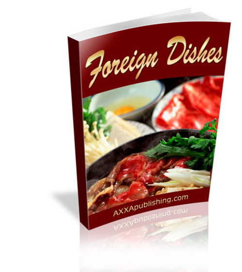 Pay for Foreign Dishes (PLR)