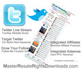 Thumbnail Working Turnkey Twitter Live Stream Site (With Demo)