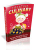 Thumbnail Creative Culinary Ebook With MRR