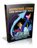 Thumbnail Inspirational Lessons From Inspirational People Ebook MRR