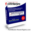Thumbnail eWriter Pro - New Version With Full Master Resale Rights