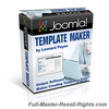 Thumbnail Joomla Template Maker Software With Full Master Resale Rights