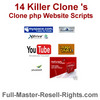 Thumbnail 14 Killer php Clone Scripts - YouTube Clone & More!