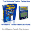 Thumbnail Ultimate Twitter Traffic - With PLR and Master Resale Rights