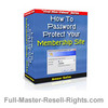 Thumbnail Ebook - How To Password Protect Your Membership Site With Full Master Resale Rights