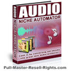 Thumbnail Audio Niche Automator With Full Master Resale Rights